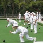 Lawn bowling in Santa Cruz