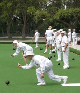 Lawn Bowling at San Lorenzo Park